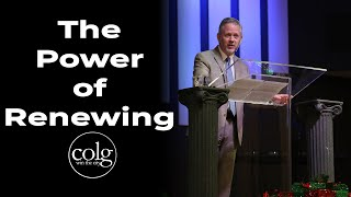 Pastor Hall - The Power of Renewing (December 29th, AM)
