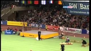 Antonio Reina 800m Men   Karlsruhe 2010 Indoor Meet