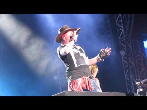 Guns N' Roses – Yesterdays – Live in Tel Aviv Israel 2017