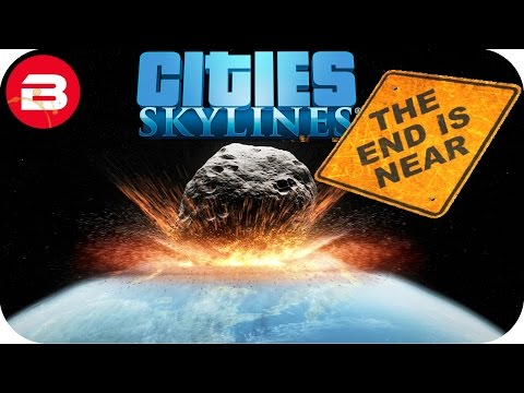 Cities Skylines Gameplay: METEOR & FLOOD!!! (Cities: Skyline
