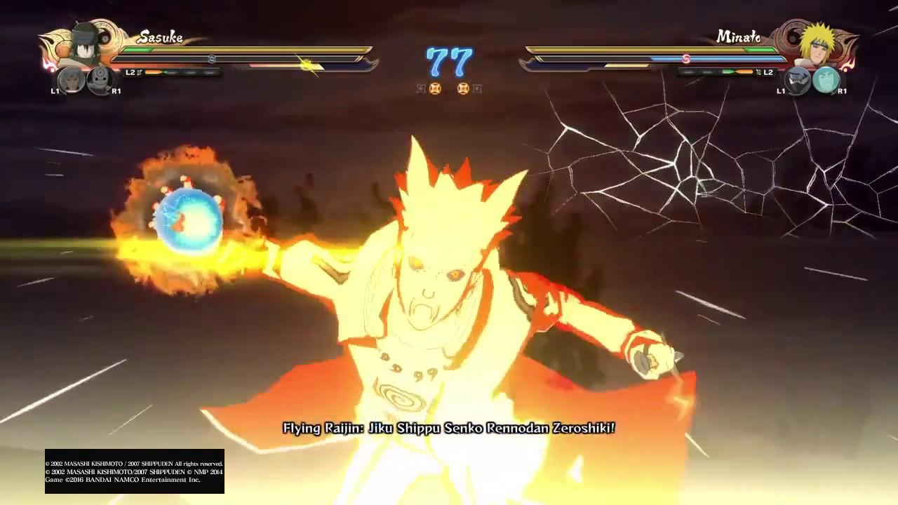 Naruto Shippuuden Ninja Storm 4 Free Battle vui cùng bạn !!!!