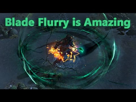 Path Of Exile Build Blade Flurry