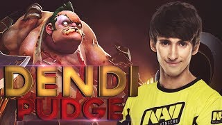 DENDI PUDGE = BEST PUDGE 2018 Compilation