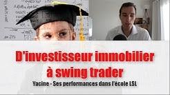 D'investisseur immobilier à Swing trader - Les performances de Yacine (Le Spéculateur Libre avis)