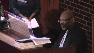 Trumpet Tune Organ Postlude by Dr Keith Hampton May 3 2015
