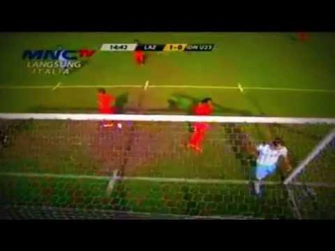 Lazio vs Timnas indonesia U-23 (1-0) ~[Half Time] Goals Pereirinha ~ Friendly Match 20/07/2014
