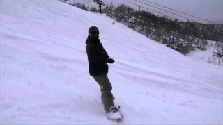 2015 New Year in Yudono3 近藤芳正さんの湯殿山スキー場でのムービーで...