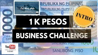 1K Pesos Business Challenge (Intro) Pearl & Philippine Handicrafts Business