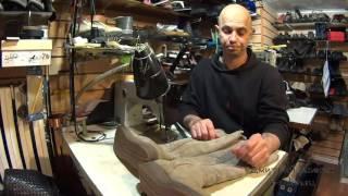 видео Оборудование для обувных и кожгалантерейных мастерских в Краснодаре