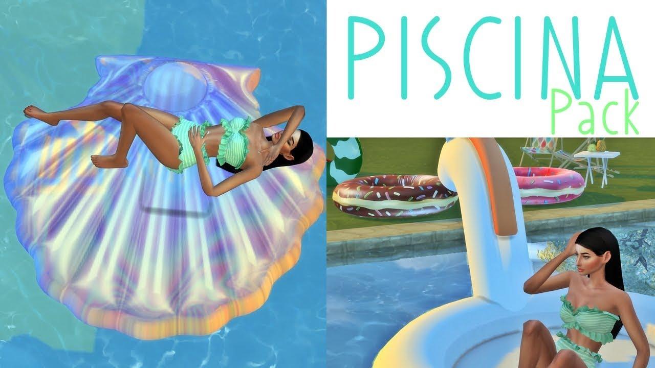 Pack boias tumblr m veis de piscina the sims 4 pool for Piscina 6 x 3