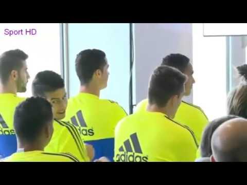 James Rodriguez LAUGHING Cristiano Ronaldo 2016