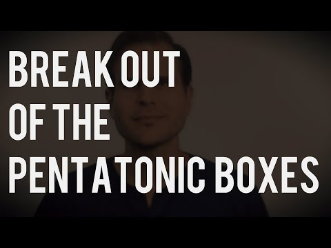 Two Simple Ways to Break out of Pentatonic Box One | TB065