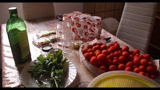 Закрываем помидоры по-итальянски! Видео-рецепт