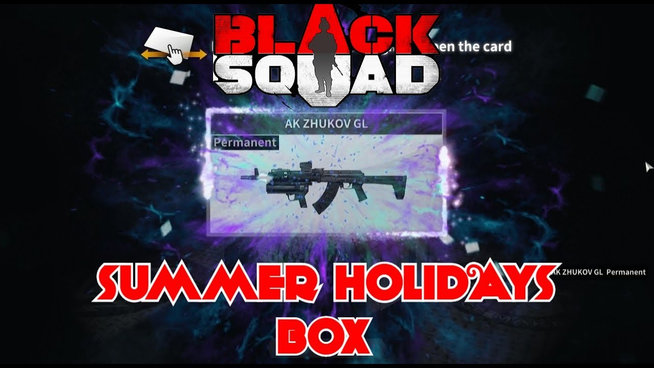 Black Squad - Unboxing [ HAPPY SUMMER HOLIDAYS 2018 BOX ] & FRONTIER BOX (  Watch Till The End )