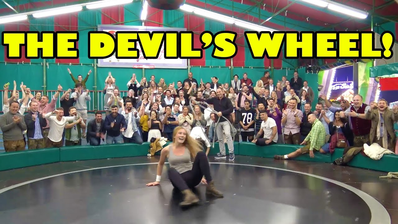 Funny Video: The Devil's Wheel at Oktoberfest is INSANE