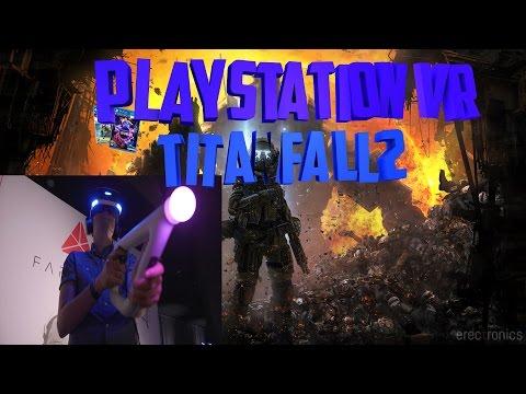 Testing Playstation VR in Titanfall2
