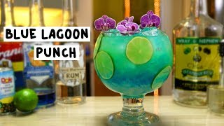 Blue Lagoon Punch