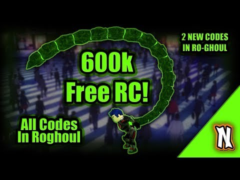 Ro-ghoul All Current Codes 600k RC Fast ◇ RoGhoul 2 NEW