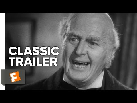 A Christmas Carol (1938) Official Trailer - Reginald Owen, Gene Lockhart Movie HD