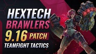 The MOST OP Teamfight Tactics Composition - Hextech Brawlers
