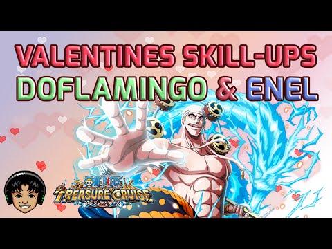 Valentine's 2x Skill-Ups Event - Doflamingo & Enel [One Piece Treasure Cruise]