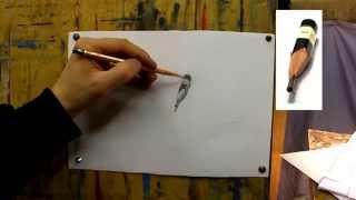 Обучение рисунку. Введение. 18 серия: упражнения на технику и тон