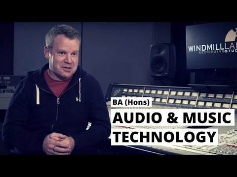 BA (Hons.) Degree in Audio & Music Technology - Overview | Pulse College
