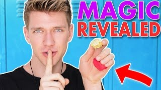 Wanna LEARN a Tutorial for how to do a super easy Back To School Magic Trick to Fool us & All of your friends! THUMBS UP for another REVEALED video!