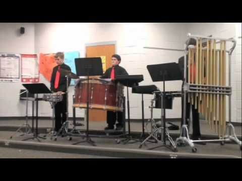 Jeremy Jacobs percussion trio