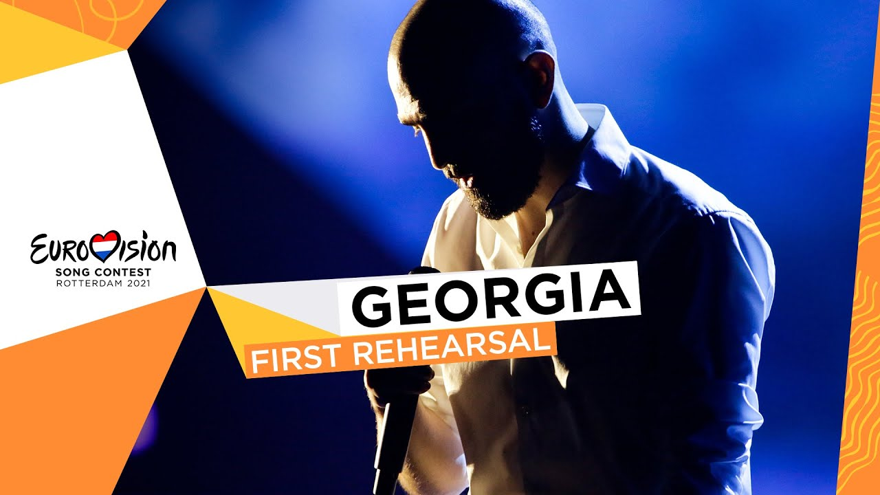 Tornike Kipiani - You - First Rehearsal - Georgia 🇬🇪 - Eurovision 2021