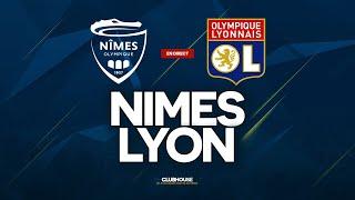 🔴 [ DIRECT / LIVE ] NIMES - LYON // ClubHouse ( no vs ol )