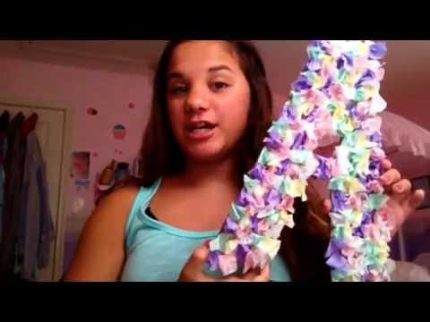 DIY Tissue Paper Decoration/ Guest Star