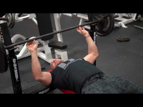 How to do a Wide Grip Bench Press for a Huge Chest | Tiger Fitness