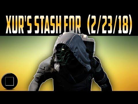 Destiny 2 - Xur's Inventory For (2/23/18)