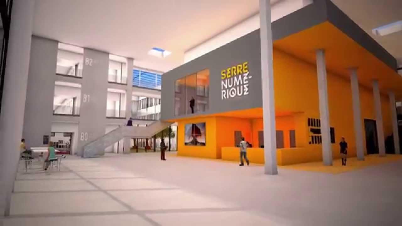 Institut Supérieur De Design Valenciennes virtual tour of serre numérique - valenciennes, france - september 2014