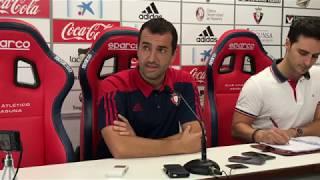 Diego Martínez. Previa Osasuna-Huesca