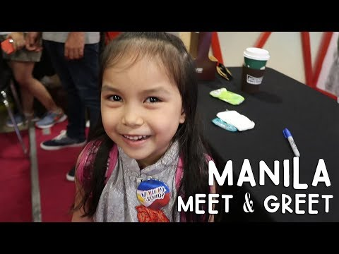 SO CUTE! Manila Meet and Greet! | Vlog #246