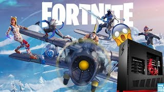 Fortnite Battle Royale with Friends - ZACH GOT A NEW PC.... sooo I get to use his old one..?
