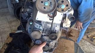 Calage Volkswagen Golf 4 1.4 Essence  - ضبط حزام فولكس فاجن جولف 4 1.4 البنزين