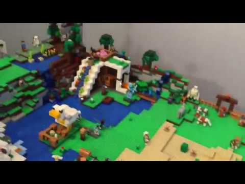 Full Lego Minecraft World Review!