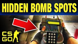 Top 10 Hidden CS:GO Bomb Plants