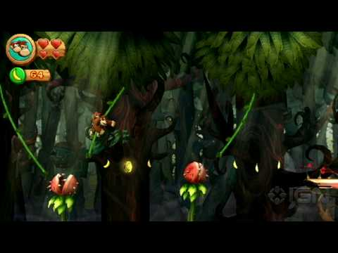 Donkey Kong Country Returns Trailer - E3 2010