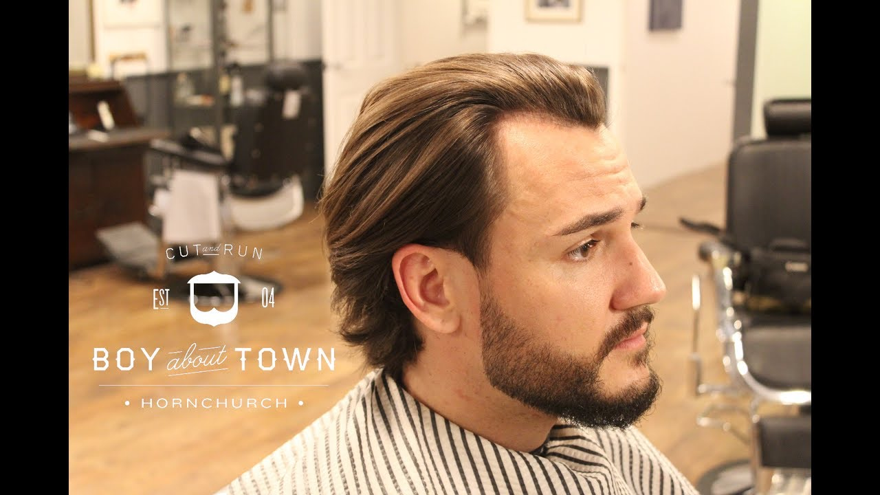 Mens Long Hair Tutorial Hd Step By Step How To Style Long Hair