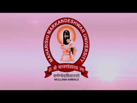 Full Campus Tour of MMU | Maharishi Markandeshwar University, Mullana
