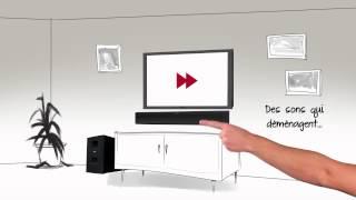 Système de haut-parleurs de cinéma-maison numérique CineMate 1 SR de Bose - un monde exaltant!