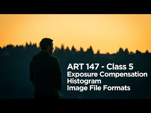 ART 147 Online Class 5 - Lecture - Exposure Compensation, Histograms, Image File Formats