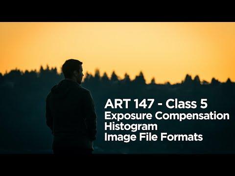 ART 147 Online Class 5 - Lecture - Exposure Compensation, Histograms, Image File Formats