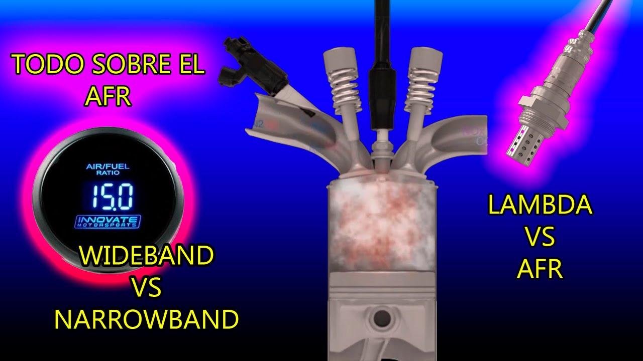 SECRETO: TODO SOBRE EL AFR 🔥 WideBand vs NarrowBand 💥 AFR VS EGT Cual es mejor? Sonda Lambda