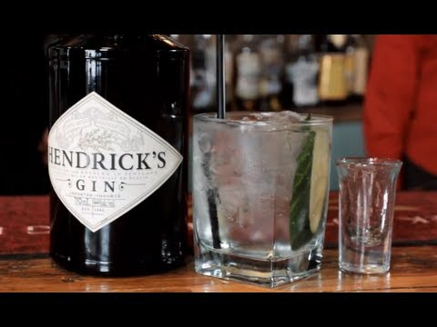 Hendrick's Gin & Tonic Drink Recipe - Tasty G&T Drink With Cucumber