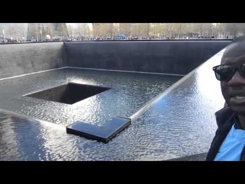New York:  Visite de Ground Zero sur le site du 11 septembre (Wall trade center)
